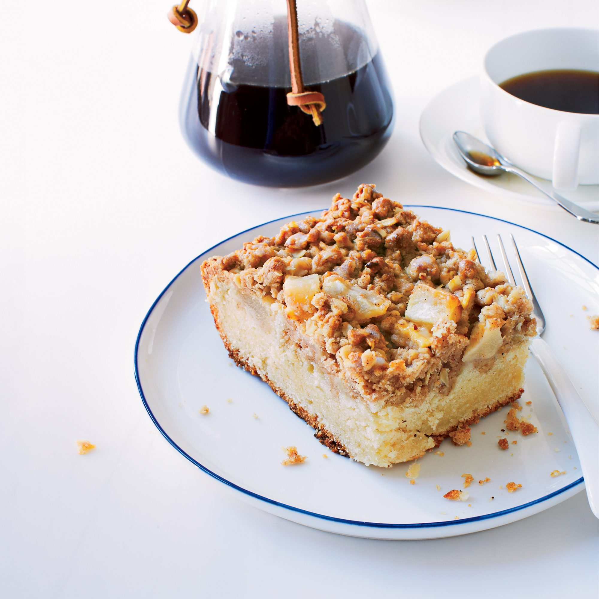 Strong Pear And Sour Cream Coffee Cake