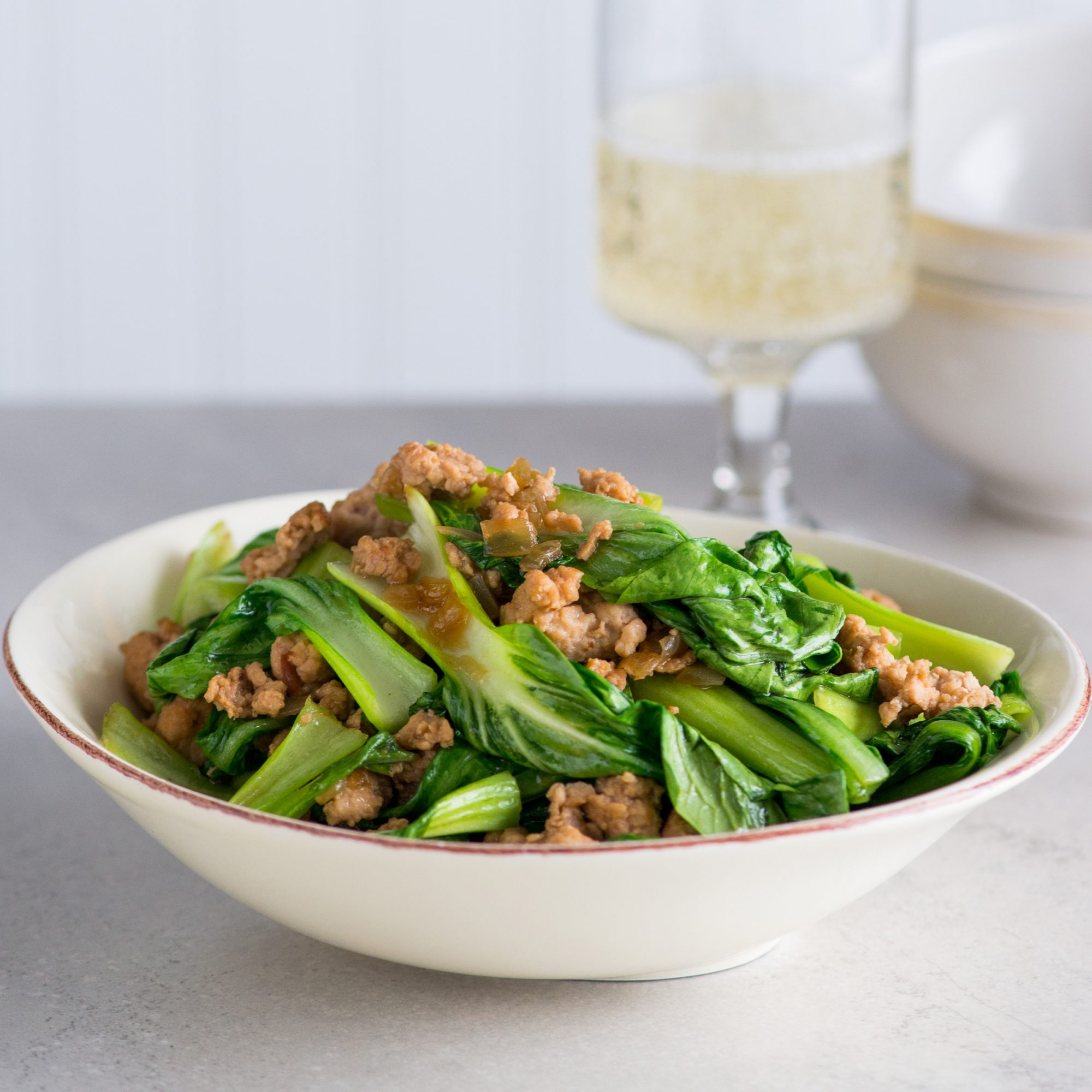 Teriyaki Chicken Bok Choy Recipe - Todd Porter and Diane ...
