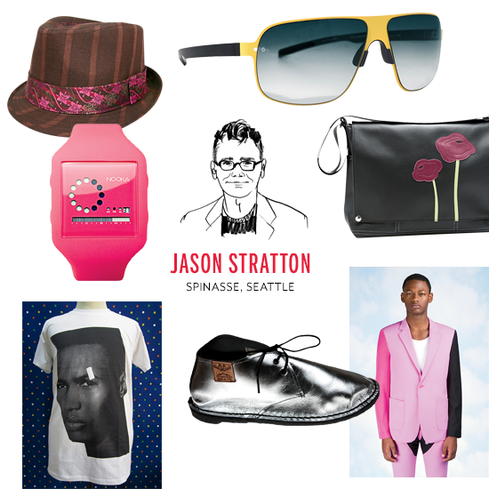 Jason Stratton's Style Picks
