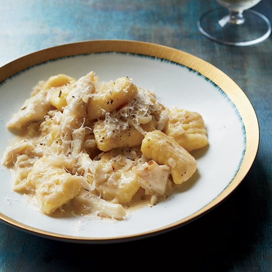 Gnocchi with Creamy Crab Pan Sauce