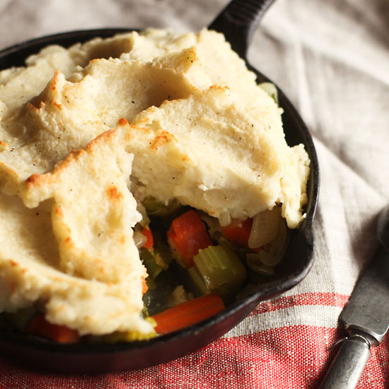 Winter-Vegetable Shepherd's Pie