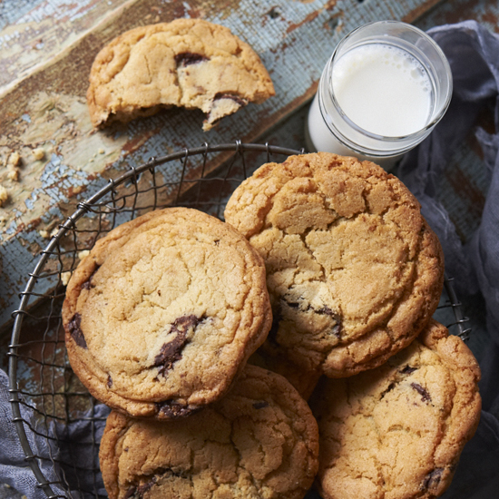 Chocolate Chip Cookie Tricks from a Master