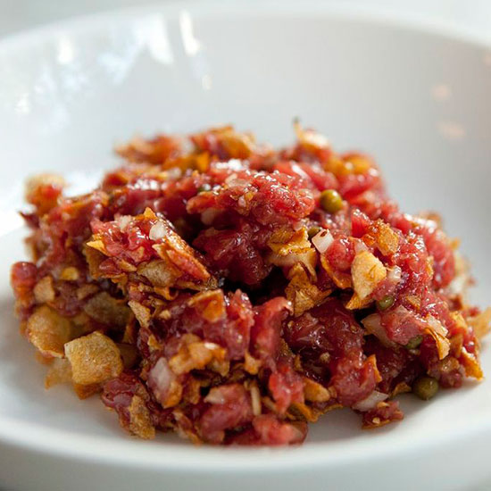 Beef Tartare at Estela, New York