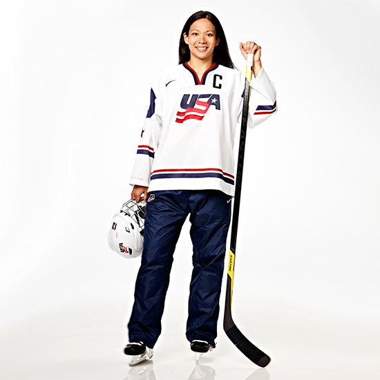 Julie Chu: Ice Hockey
