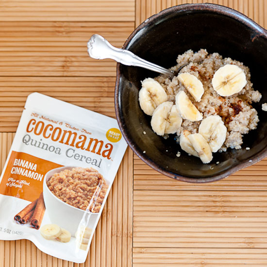 Cocomama Hot Quinoa Cereal