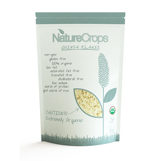 NatureCrops Quinoa Flakes
