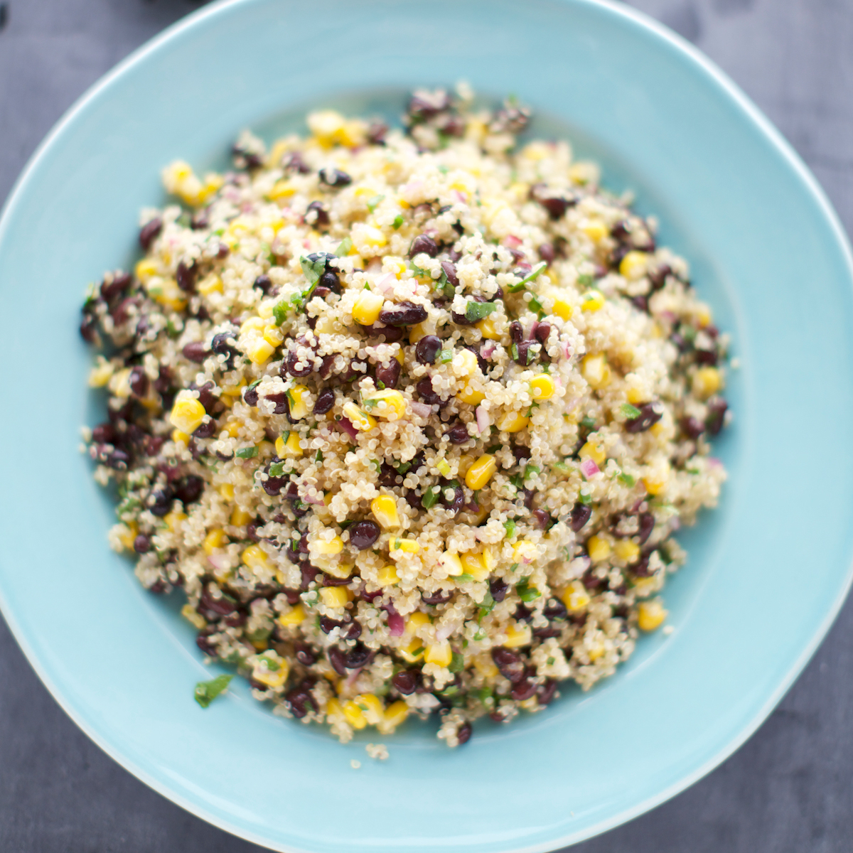 Quinoa corn and black bean salad recipe kate winslow food wine forumfinder Image collections