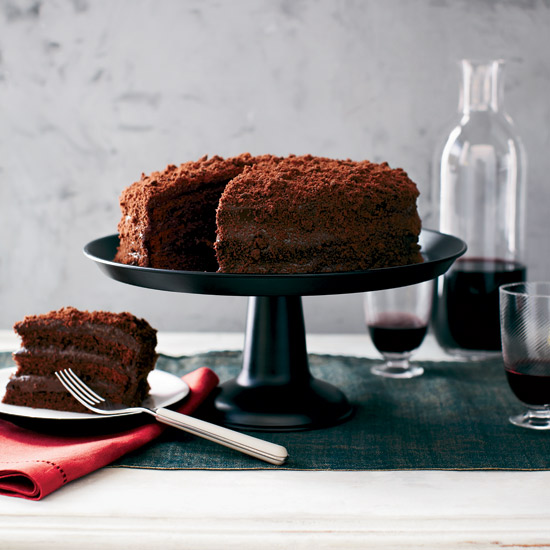 Gale Gand's Chocolate Blackout Cake