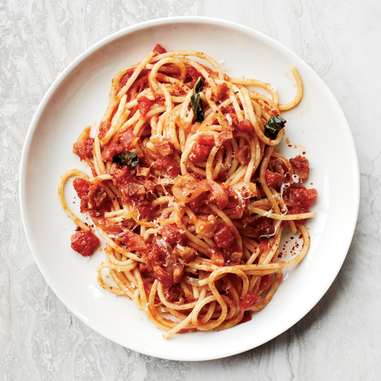 All'Amatriciana with Extra Umami