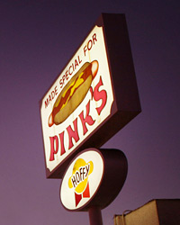 Los Angeles restaurant: Pink's