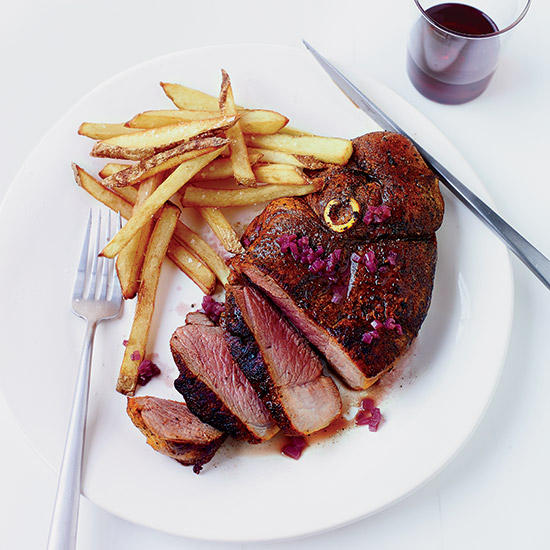 Lamb Steak Frites