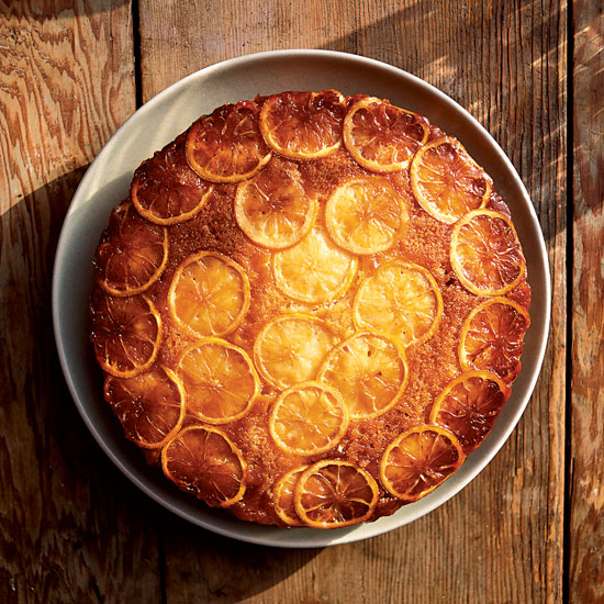 <p>Lemon Upside-Down Cake</p>