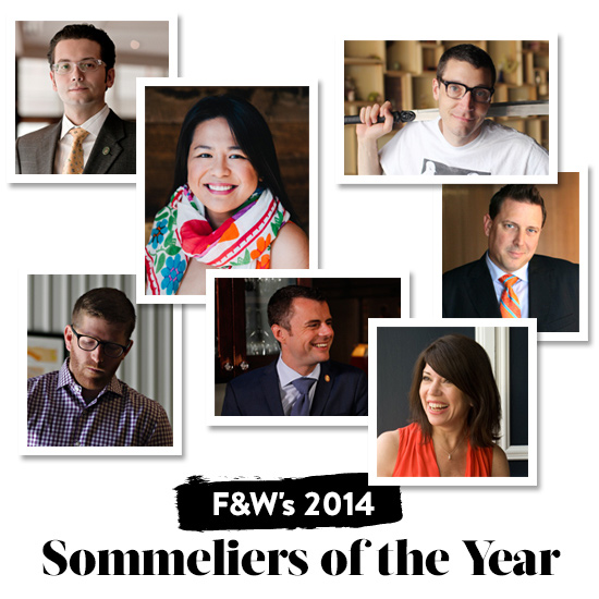 Announcing Food & Wine's 2014 Sommeliers of the Year
