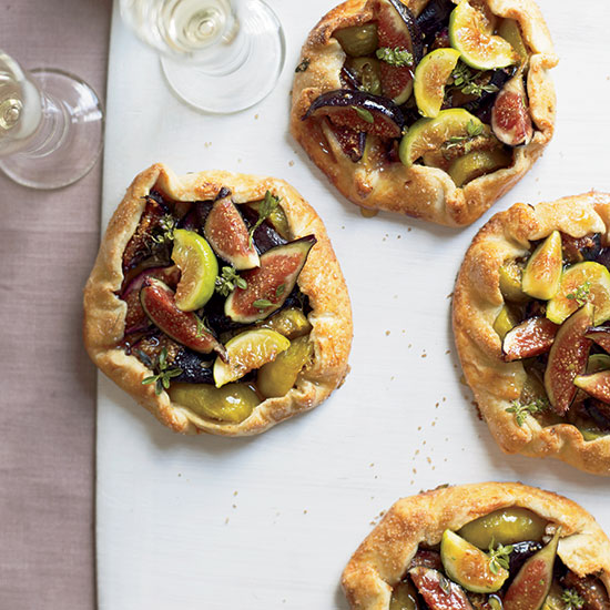 Honey Fig Crostatas