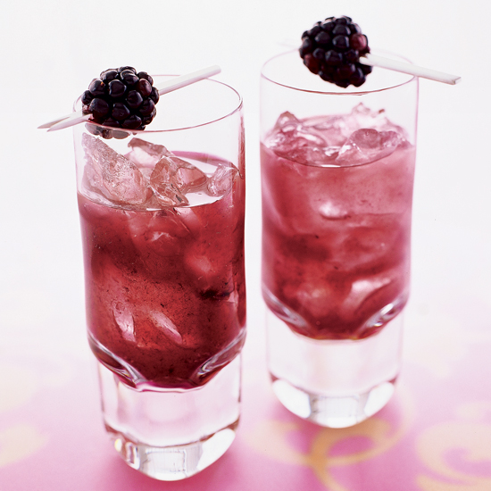 Blackberry-Mint Margarita