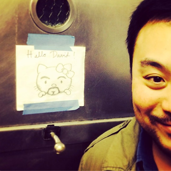 If Hello Kitty Were David Chang, Here's What He Would Look Like