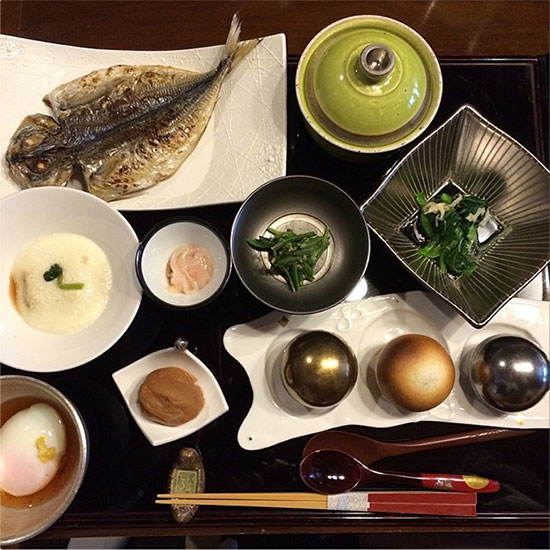 Fish: Part of This Complete Japanese Breakfast