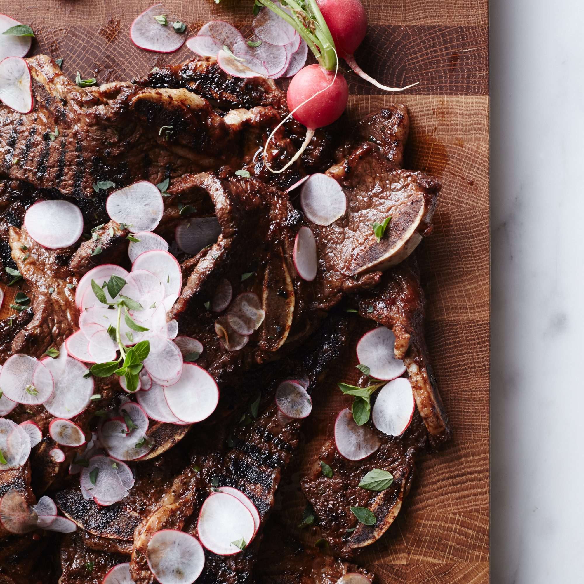 May 19: Grilled Short Ribs with Smoky Blackberry Barbecue Sauce