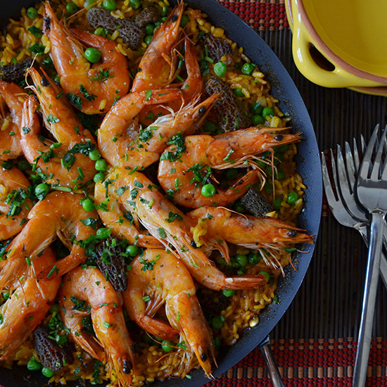 Simple Spring Paella
