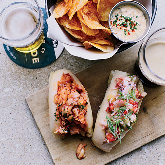 Steamed Lobster Rolls At Eventide