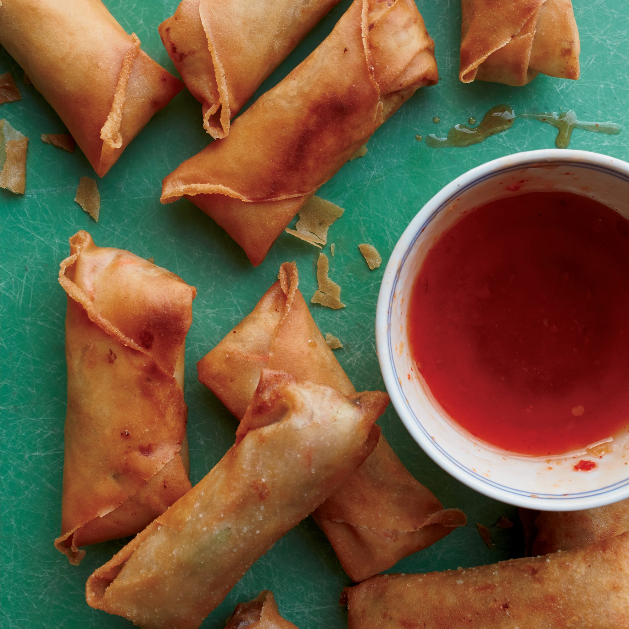 Spring Rolls with Pork and Glass Noodles