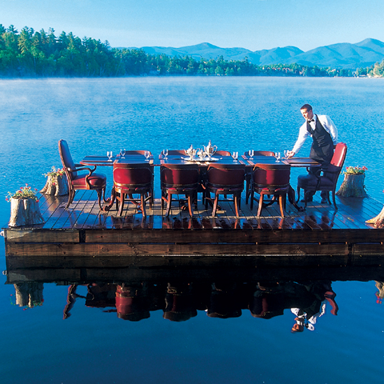 The View Restaurant, Mirror Lake Inn; Lake Placid, NY
