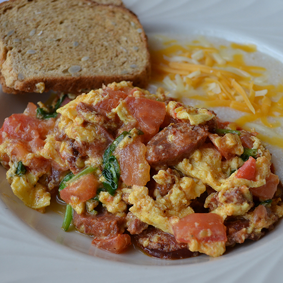 Portuguese Scramble at Black-Eyed Susan's