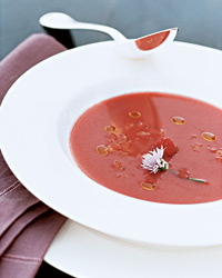 Strawberry, Tomato and Fennel Gazpacho
