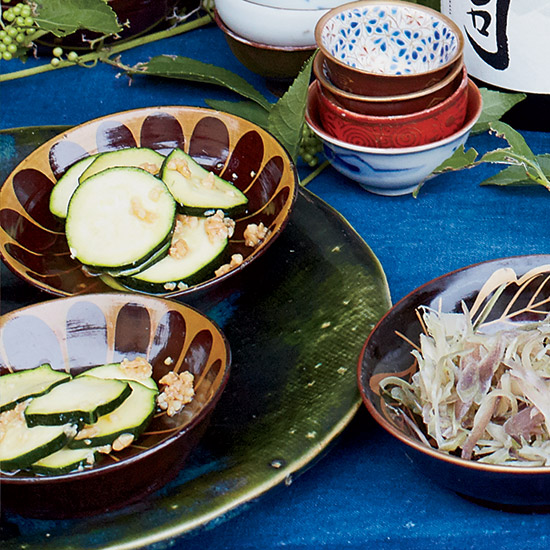 Quick Soy-Pickled Zucchini