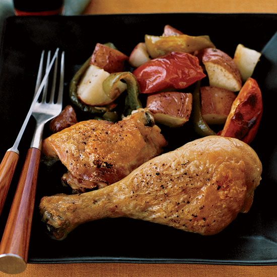 Tunisian Spice-Roasted Chicken