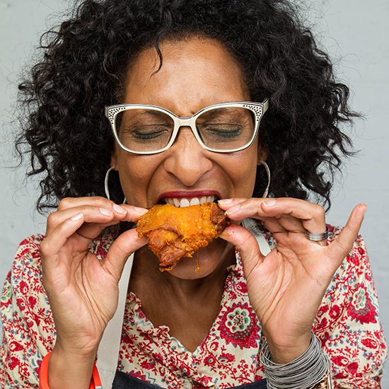 10. Carla Hall, Co-host, The Chew