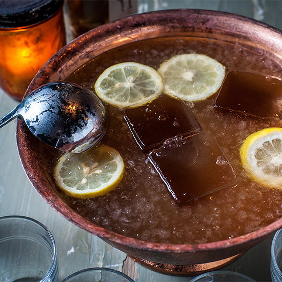 A Mixologist's Ultimate Rosh Hashanah Punch