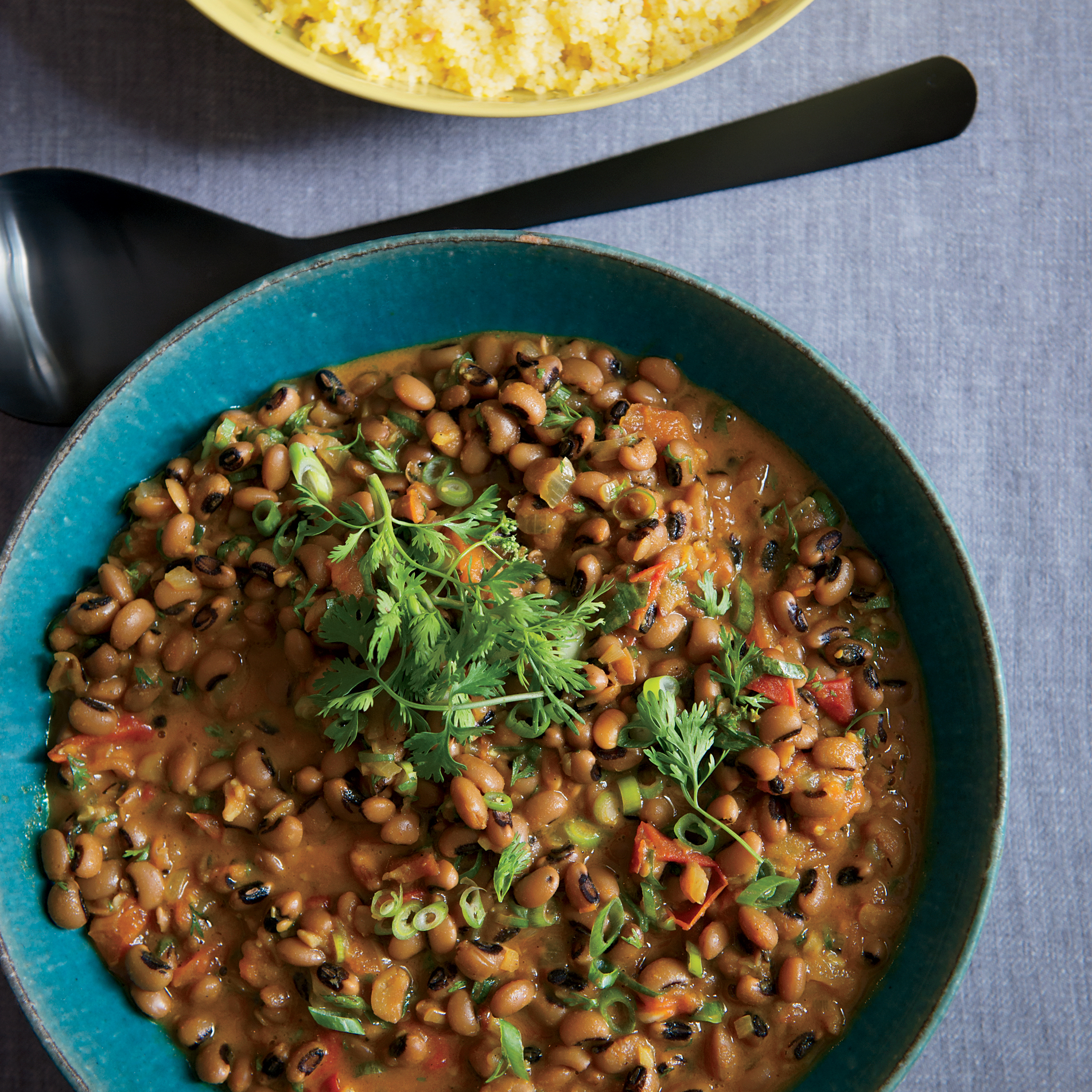 Black-Eyed Peas with Coconut Milk and Ethiopian Spices