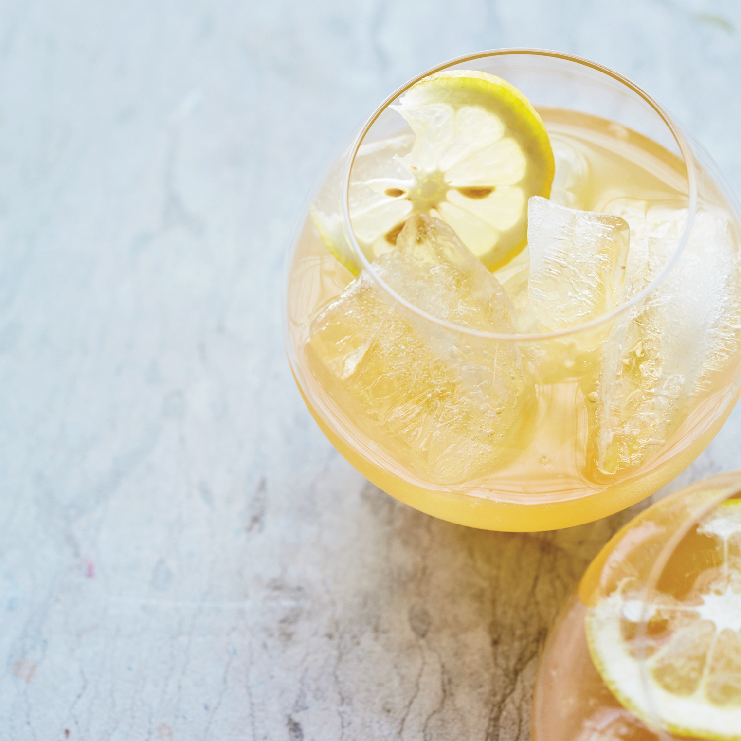 Citrus, Brandy and Pineapple Punch