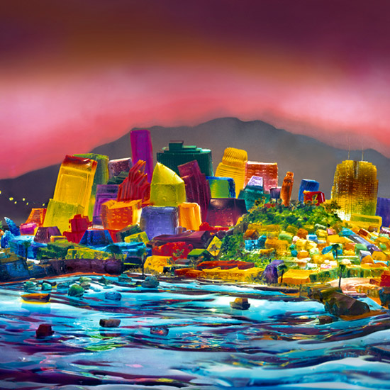 San Francisco in Jell-O
