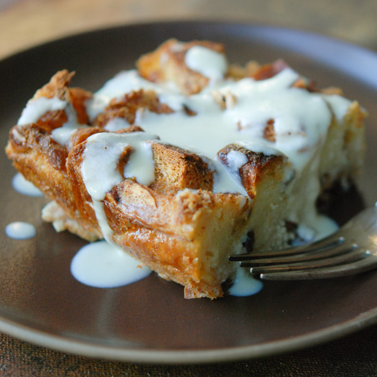Bread Pudding with Irish Whiskey