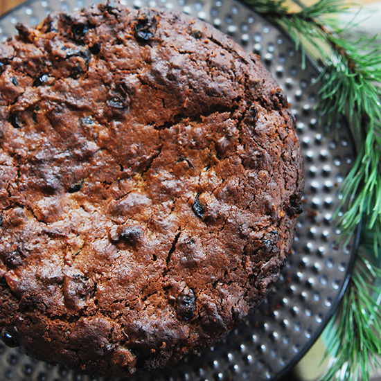 Christmas Boiled Fruit Cake