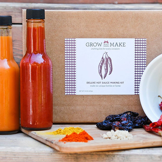 Homemade Hot Sauce Kit