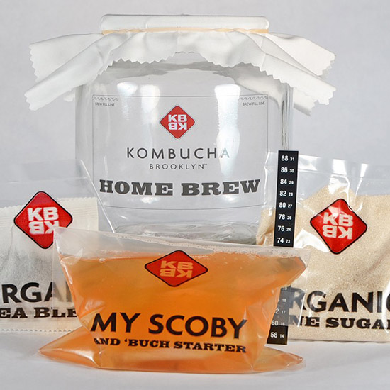 Kombucha Brooklyn Home Brew Kit