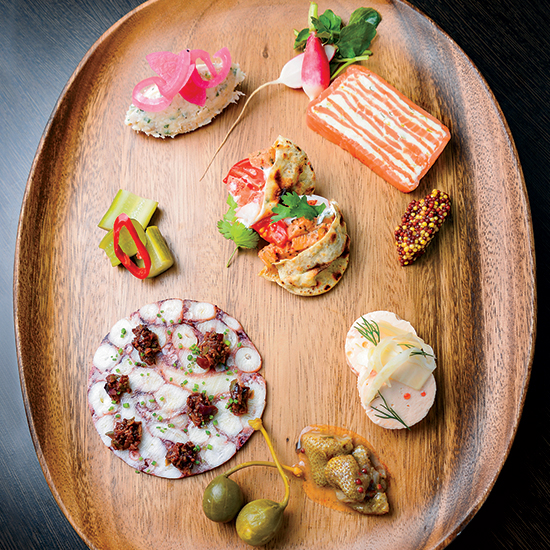 Who Needs Meat When There's Seafood Charcuterie?