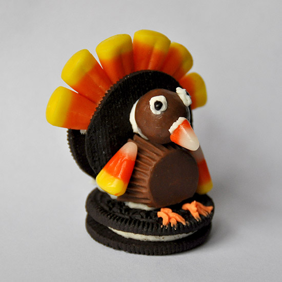 Oreo and Whoopers Turkey Treat
