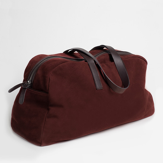 The Everlane Suede Weekender