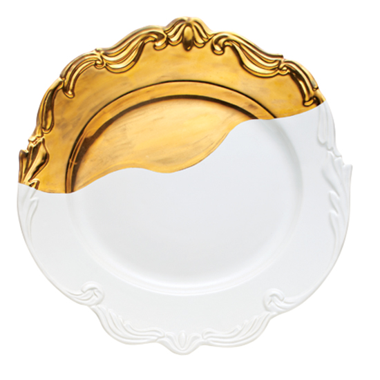 Bridget Parris by Magenta Oh So Fountainbleu Serving Platter