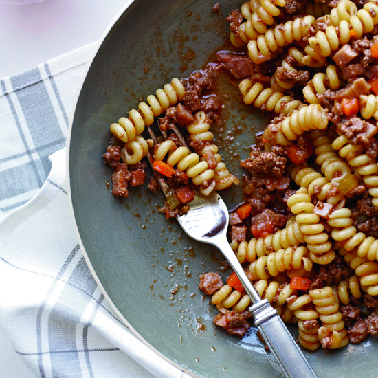 Butcher's Ragù with Fusilli