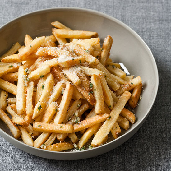 Oven Fries with Herbs and Pecorino