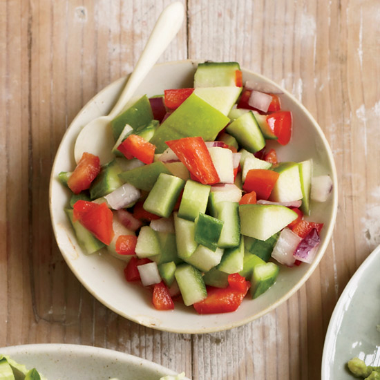 Apple-Cucumber Salsa