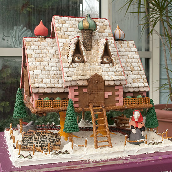 Baba Yaga Gingerbread House