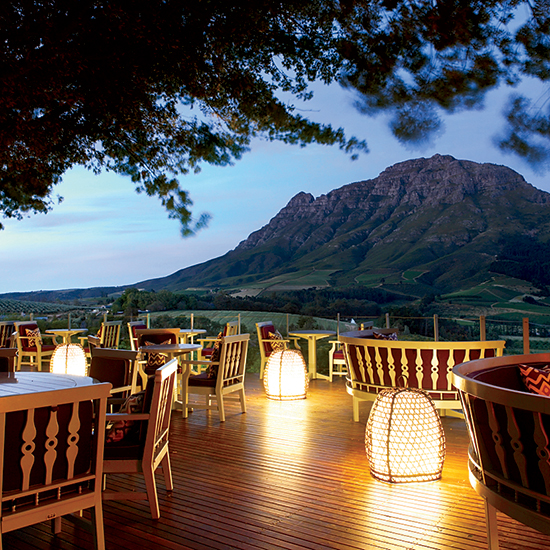 South Africa: Delaire Graff Estate