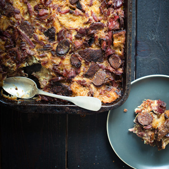 Choucroute Bread Pudding