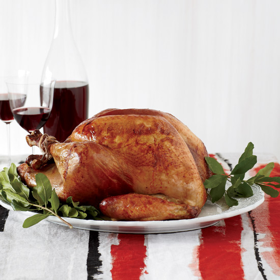 Adding Guinness, or any dark beer, to the brine gives the turkey a toasty flavor and helps give the skin a dark brown color. // © Christina Holmes